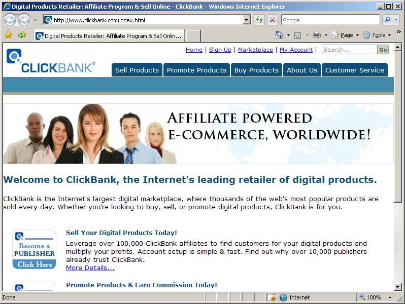 cb1 קליקבנק   Clickbank