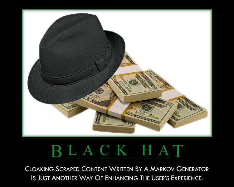 black hat אמרו לי שאני כשרון מבוזבז